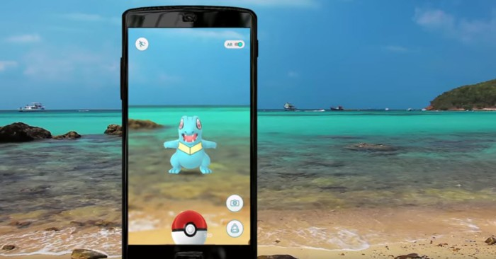 PokemonGo Travel photo Pokemon on the Beach
